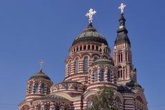 Annunciation καθεδρικός ναός σε Kharkiv, Ουκρανία Στοκ Εικόνα