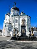 Annunciation καθεδρικός ναός σε Voronezh Στοκ εικόνα με δικαίωμα ελεύθερης χρήσης