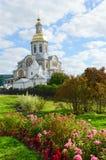 Annunciation καθεδρικός ναός στην ιερή μονή seraphim-Diveevo τριάδας, Στοκ φωτογραφία με δικαίωμα ελεύθερης χρήσης