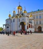 Annunciation καθεδρικός ναός στη Μόσχα Κρεμλίνο Ρωσία Στοκ φωτογραφίες με δικαίωμα ελεύθερης χρήσης