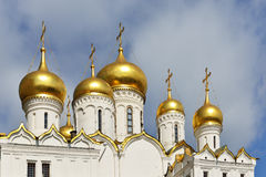 Annunciation καθεδρικός ναός στο Κρεμλίνο Στοκ εικόνα με δικαίωμα ελεύθερης χρήσης