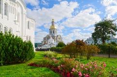 Annunciation καθεδρικός ναός της ιερής τριάδας seraphim-Diveevo monaster Στοκ εικόνες με δικαίωμα ελεύθερης χρήσης