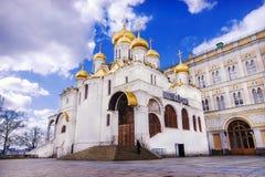 Annunciation καθεδρικός ναός της Μόσχας Κρεμλίνο, Ρωσία Στοκ Εικόνες