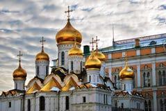 Annunciation καθεδρικός ναός της Μόσχας Κρεμλίνο Φωτογραφία χρώματος Στοκ Φωτογραφία