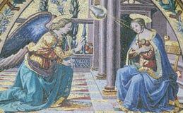 Annunciation, καθεδρικός ναός της Φλωρεντίας Στοκ φωτογραφία με δικαίωμα ελεύθερης χρήσης