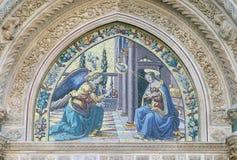 Annunciation, καθεδρικός ναός της Φλωρεντίας Στοκ Φωτογραφία