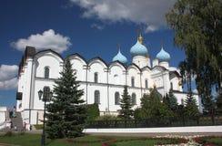 Annunciation καθεδρικός ναός Kazan Κρεμλίνο. Ρωσία Στοκ Φωτογραφία