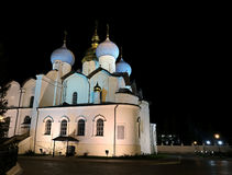 annunciation καθεδρικός ναός kazan Κρεμλίνο Στοκ φωτογραφίες με δικαίωμα ελεύθερης χρήσης