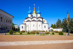 Annunciation καθεδρικός ναός, Kazan Κρεμλίνο Στοκ Εικόνες