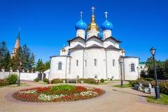 Annunciation καθεδρικός ναός, Kazan Κρεμλίνο Στοκ φωτογραφίες με δικαίωμα ελεύθερης χρήσης