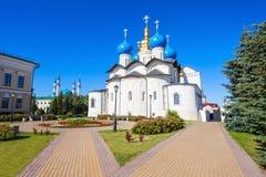 Annunciation καθεδρικός ναός, Kazan Κρεμλίνο Στοκ Εικόνα