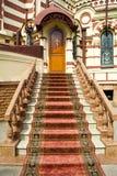 Annunciation καθεδρικός ναός, Kharkiv. Είσοδος υπηρεσιών Στοκ φωτογραφία με δικαίωμα ελεύθερης χρήσης