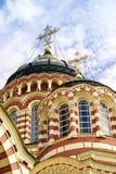 Annunciation καθεδρικός ναός, Kharkiv. Θόλος Στοκ εικόνες με δικαίωμα ελεύθερης χρήσης