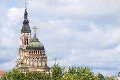 Annunciation καθεδρικός ναός, Kharkiv Στοκ Φωτογραφία