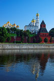 Annunciation και καθεδρικός ναός και Ivan Archangelic το μεγάλο κουδούνι τ Στοκ εικόνα με δικαίωμα ελεύθερης χρήσης