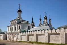 Annunciation μοναστήρι σε Murom, Ρωσία Στοκ εικόνα με δικαίωμα ελεύθερης χρήσης