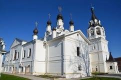 Annunciation μοναστήρι σε Murom, χρυσό δαχτυλίδι της Ρωσίας Στοκ Φωτογραφία