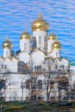 Annunciation Ορθόδοξη Εκκλησία. Μόσχα Κρεμλίνο Στοκ Φωτογραφία