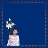 Annunciation πρόσκληση Στοκ Φωτογραφία