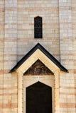 annunciation πόρτα βασιλικών Στοκ φωτογραφία με δικαίωμα ελεύθερης χρήσης