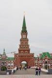 Annunciation πύργος Η Δημοκρατία των Μάρι EL, Yoshkar-Ola, Ρωσία 05/21/2016 Η Δημοκρατία των Μάρι EL, Yoshkar-Ola, Ρωσία Στοκ Εικόνες