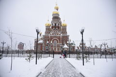 Annunciation πύργος Yoshkar-Ola Στοκ φωτογραφία με δικαίωμα ελεύθερης χρήσης