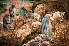 Annunciation στους ποιμένες Στοκ Εικόνες