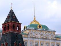 Annunciation της Μόσχας Κρεμλίνο πύργος 2011 Στοκ εικόνα με δικαίωμα ελεύθερης χρήσης