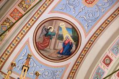 Annunciation της Mary Στοκ φωτογραφία με δικαίωμα ελεύθερης χρήσης