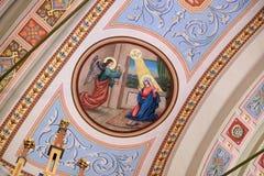 Annunciation της Mary Στοκ εικόνες με δικαίωμα ελεύθερης χρήσης