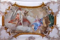 Annunciation της Mary Στοκ Εικόνες