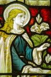 Annunciation της Virgin Mary παράθυρο Στοκ Φωτογραφία