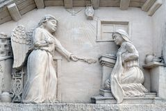 Annunciation της Virgin Mary Στοκ φωτογραφία με δικαίωμα ελεύθερης χρήσης