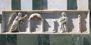 Annunciation της Virgin Mary Στοκ εικόνα με δικαίωμα ελεύθερης χρήσης