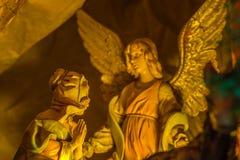 Annunciation του αγγέλου στη Mary Στοκ Εικόνα