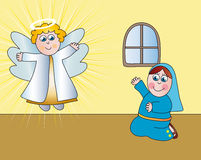 Annunciation royalty free stock image