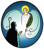 Annunciation Stock Photo