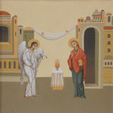 The Annunciation Stock Photography