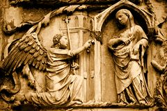 annunciation Zdjęcia Royalty Free