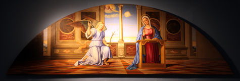 Annunciation Στοκ Φωτογραφία