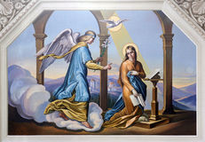 Annunciation Στοκ εικόνες με δικαίωμα ελεύθερης χρήσης