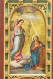 The Annunciation of the Virgin Mary Stock Image