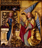 Annunciation. A beautifull example of an annuncaition. The photo was made in Amsterdam Royalty Free Stock Photography