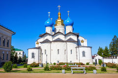 Annunciation Cathedral, Kazan Kremlin. Annunciation Cathedral of Kazan Kremlin is the first Orthodox church of the Kazan Kremlin. The Kazan Kremlin is the chief Stock Photography