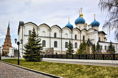 Annunciation Cathedral in Kazan Kremlin ,  Russia Royalty Free Stock Images