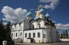 Annunciation Cathedral in the Kazan Kremlin. Russia Stock Photos
