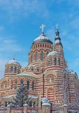 The Annunciation Cathedral in Kharkiv. Ukraine. Royalty Free Stock Images