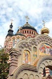 Annunciation Cathedral in Kharkiv, Ukraine. The Annunciation Cathedral (1901) in a summer day in Kharkiv, Ukraine Royalty Free Stock Images