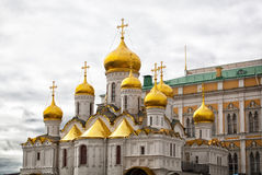 Annunciation Cathedral in the Moscow Kremlin Stock Image