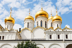 Annunciation cathedral in Moscow Kremlin Royalty Free Stock Photo